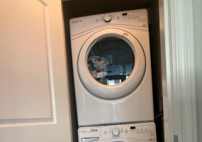 Washer / Dryer in unit.